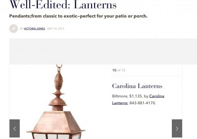 Veranda | Well-Edited: Lanterns