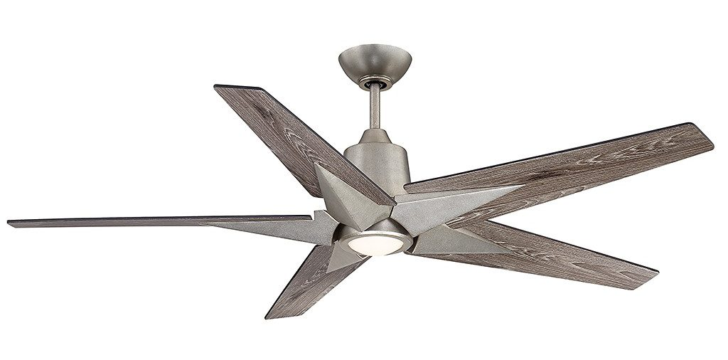 The Savoy House Buckenham ceiling fan is 56 inches in diameter.